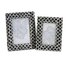 Lizzie Bone Picture Frame (Set of 2)