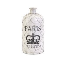 Small French Wire Cage Bottle