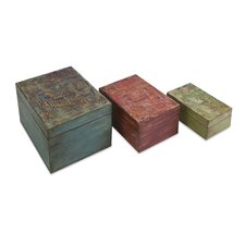 <strong>IMAX</strong> Circus Lidded Boxes (Set of 3)