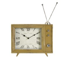<strong>IMAX</strong> Garrett Retro TV Clock