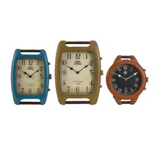 3 Piece Barrett Tabletop Wrist Clock