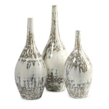 Hampton Mexican Pottery Vase (Set of 3)