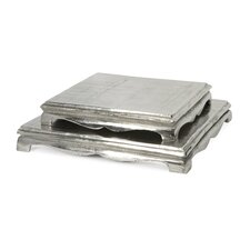 Lorene Pedestal Tray (Set of 2)