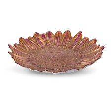 Shasta Daisy Glass Plate