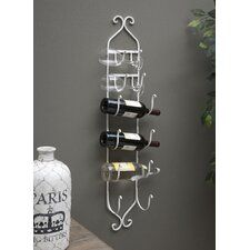 White Towel/Wine Rack