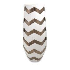 Cheveron Vase