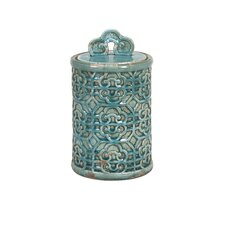 Kendall Teal Canister