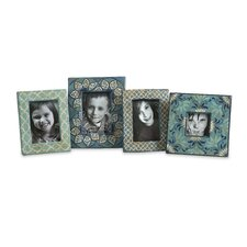 <strong>IMAX</strong> Kabir Hand Painted Picture Frames (Set of 4)