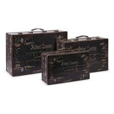 <strong>IMAX</strong> Walden Suitcase (Set of 3)