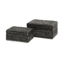 <strong>IMAX</strong> Bangle Box (Set of 2)