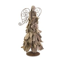 Woodland Driftwood Angel with Scroll