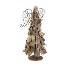 Woodland Driftwood Angel with Scroll