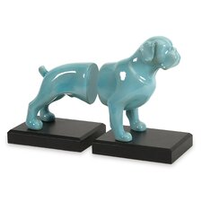 Walker Dog Book Ends (Set of 2)