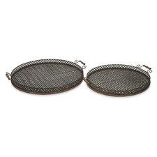 Regency Oversized Tray (Set of 2)