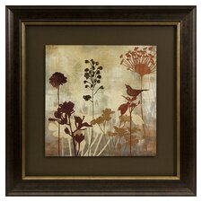 Tibbits Silhouette Framed Painting Print (Set of 2)