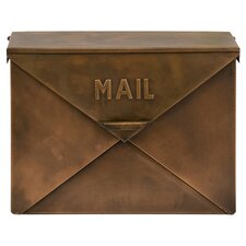 Tauba Mail Box in Copper