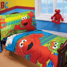 ABC 123 4 Piece Toddler Bedding Set