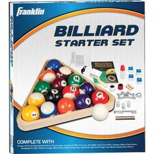 <strong>Franklin Sports</strong> Billiards Deluxe Starter Kit