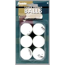 1-Star Table Tennis Ball (Set of 6)