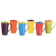 BIA Latte Mugs (Set of 6)