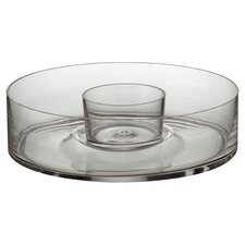 Artland Simplicity Boxed Chip and Dip Dish