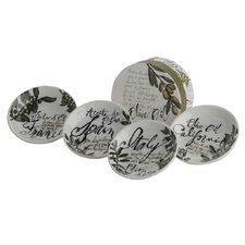 <strong>The DRH Collection</strong> Rosanna Olive Oil Dipping Dish (Set of 4)