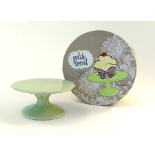 Rosanna Petite Treat Cake Stand in Mint