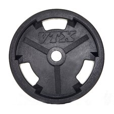 <strong>VTX by Troy Barbell</strong> 10 lbs Olympic Rubber Grip Plate