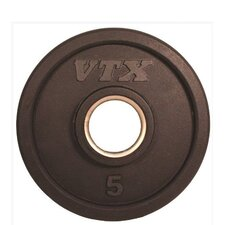 <strong>VTX by Troy Barbell</strong> 5 lbs Olympic Rubber Grip Plate