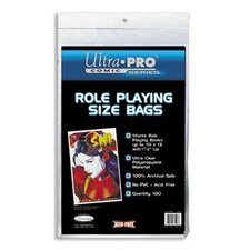 "10"" x 13"" Role Playing Comic Bags"