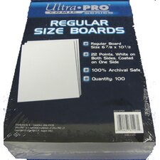 "<strong>Ultra Pro</strong> 6.8"" x 10.5"" Regular Comic Boards"