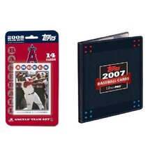 MLB 2008 Trading Card Set - Anaheim Angels