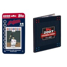 MLB 2008 Trading Card Set - Cleveland Indians