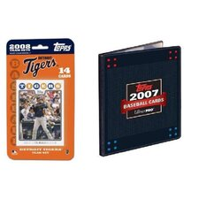 MLB 2008 Trading Card Set - Detroit Tigers