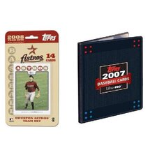 MLB 2008 Trading Card Set - Houston Astros