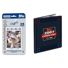 MLB 2008 Trading Card Set - LA Dodgers