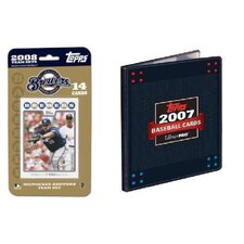 MLB 2008 Trading Card Set - Milwaukee Brewers