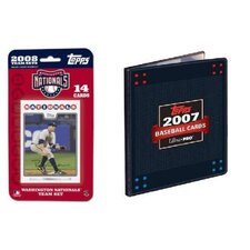 MLB 2008 Trading Card Set - Washington Nationals