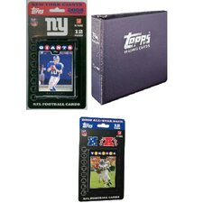 NFL 2008 Trading Card Gift Set - New York Giants