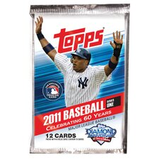 MLB 2011 Topps Baseball Cards Series 1