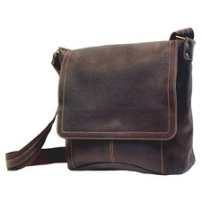 Distressed Messenger Bag