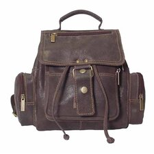 <strong>David King</strong> Mid-Size Top Handle Backpack