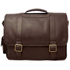 <strong>David King</strong> Leather Laptop Briefcase