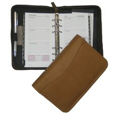 "5"" x 8"" Zippered 6-Ring Agenda"