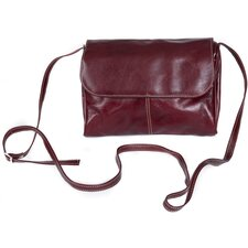 Florentine Flap Front Mini Cross-Body Bag