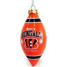 Team Beans Holiday Christmas NFL Tear Drop Ornament
