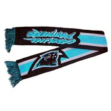 NFL Striped Scarf - Carolina Panthers