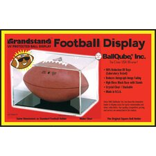 <strong>BallQube</strong> Grandstand UV Protective Football Display Case