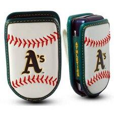 MLB Leather Cell Phone Holder