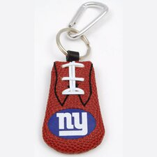 NFL Leather Football Classic Key Chain